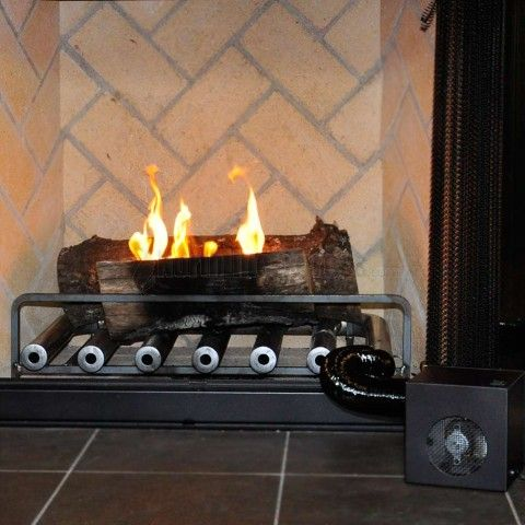 Spitfire Fireplace Heater - 6 Tube w/ Blower - The Spitfire Hearth Heater  was developed to dramatically increase convection heat (hot air) coming  from your ... - 17 Best Images About Fireplace Heaters On Pinterest Models