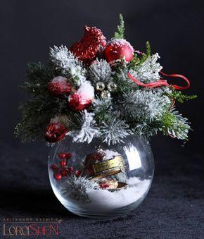 Новогодняя флористика
