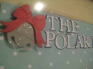 Craftin' on my door: The Polar Express