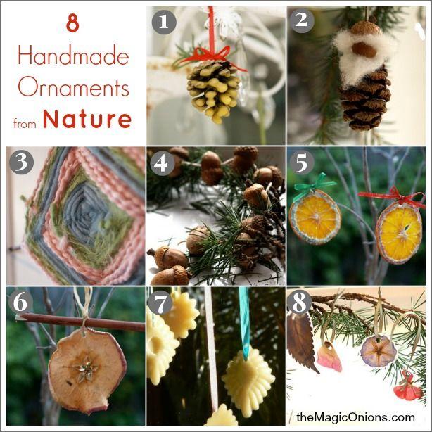 Best 25+ Natural Christmas Ornaments Ideas On Pinterest