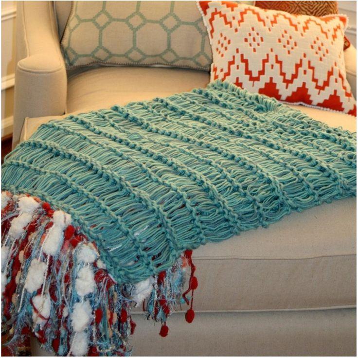 17 melhores imagens sobre inspira o em amofadas mantas e - Cobertor para sofa ...