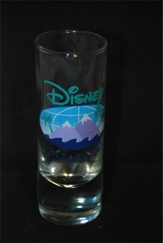 4 Inch  **Disney Vacation Club** Logo Shot Glass