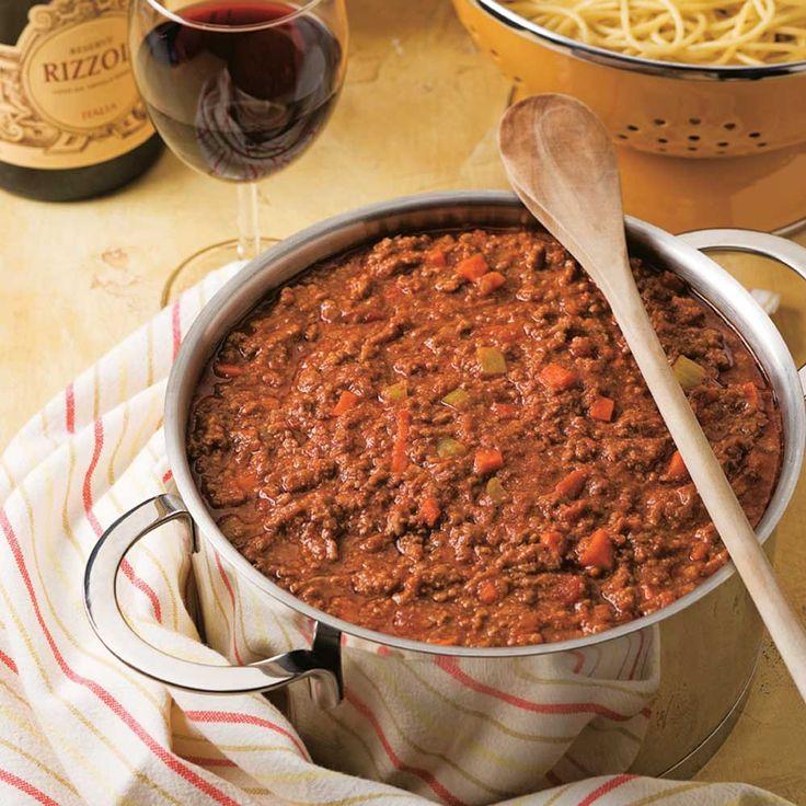 Sauce à spaghetti maison - Recettes - Cuisine et nutrition - Pratico Pratique