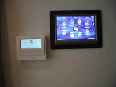 Smart Heating Control Is A Simple And Affordable Part Of Any Control4 Home  Automation System.
