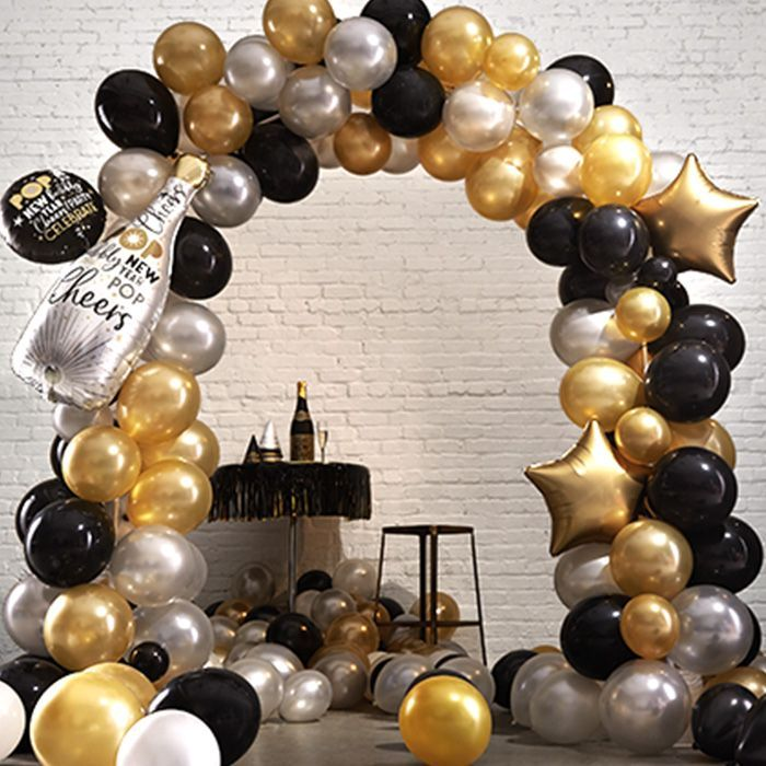 2020 New Year S Eve Decorations Party Supplies Party City New Years Eve Decorations Party City Balloon Arch Party City Balloons