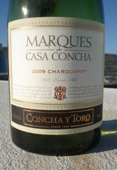 Marques de Casa Concha 2009 Chardonnay