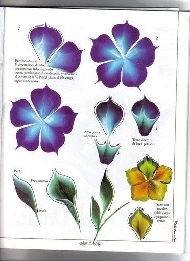 Как рисовать цветы. Книга по рисованию. Обсуждение на LiveInternet - Российский Сервис Онлайн-Дневников