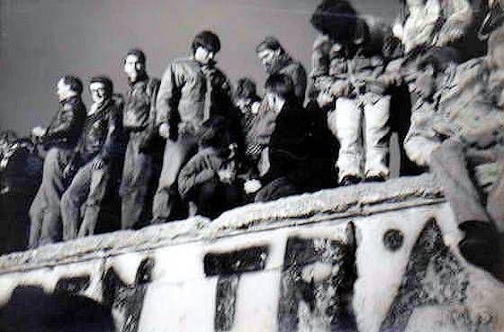 La caduta del muro di Berlino 1989