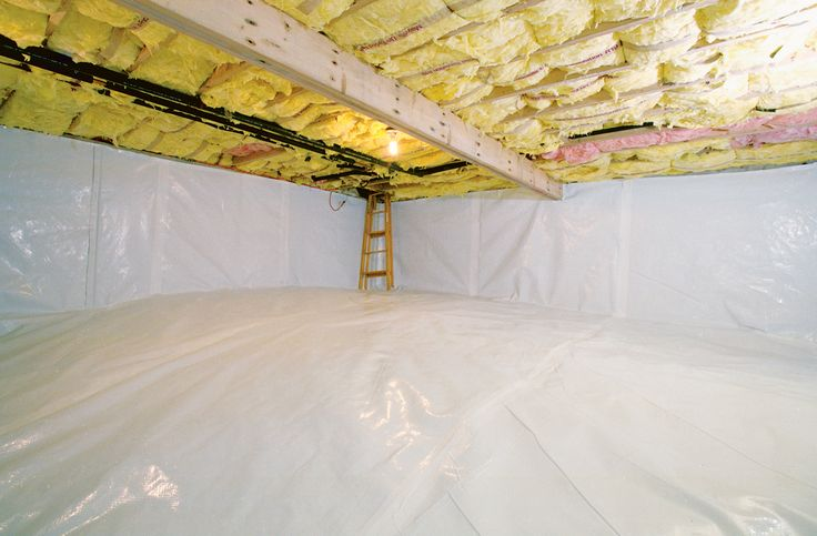 Best 25 crawl spaces ideas on pinterest attic access for Basement insulation wrap