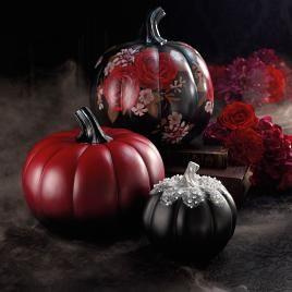 Glam Designer Pumpkins