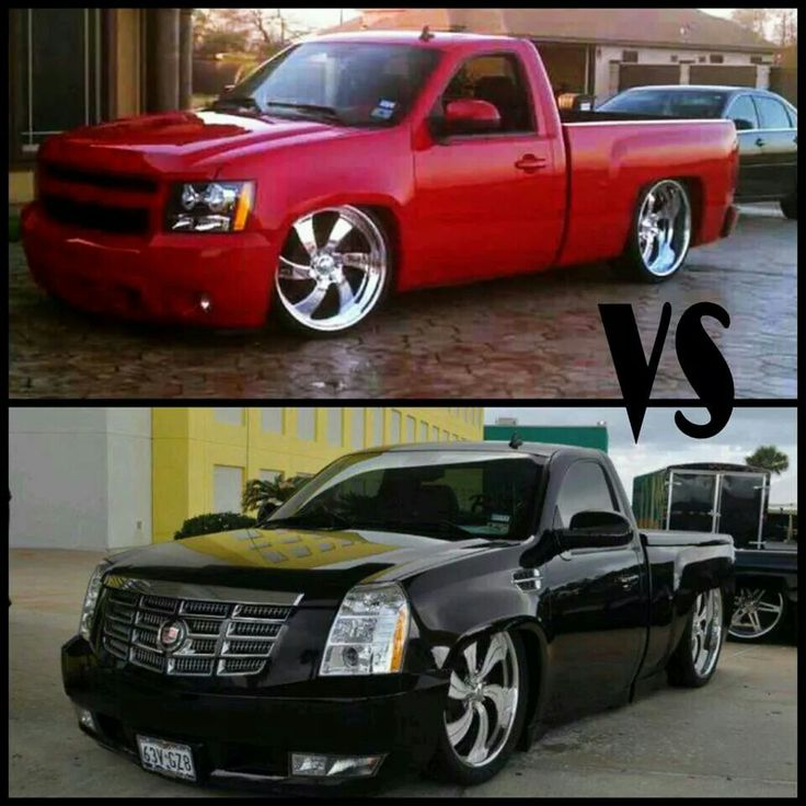 Trocas | Dropped trucks, Lowered trucks, Cool trucks