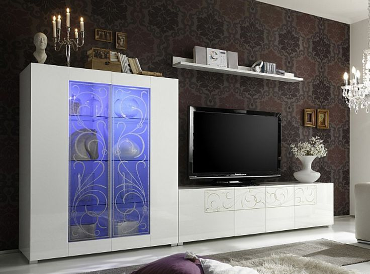 Padua Wall Unit Composition 3 by LC Mobili Italy - $1,399.00