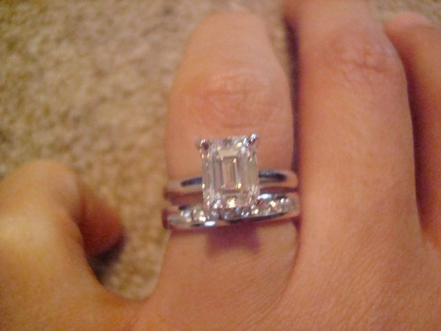 The Forum Engagement Ring FolderEye Candy Emerald Cut