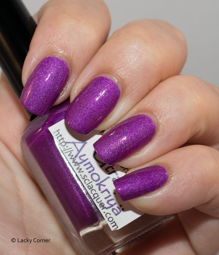 Lacky Corner: The Neverending Story Challenge - Superficially Colorful Lacquer Utral Aymokriyä