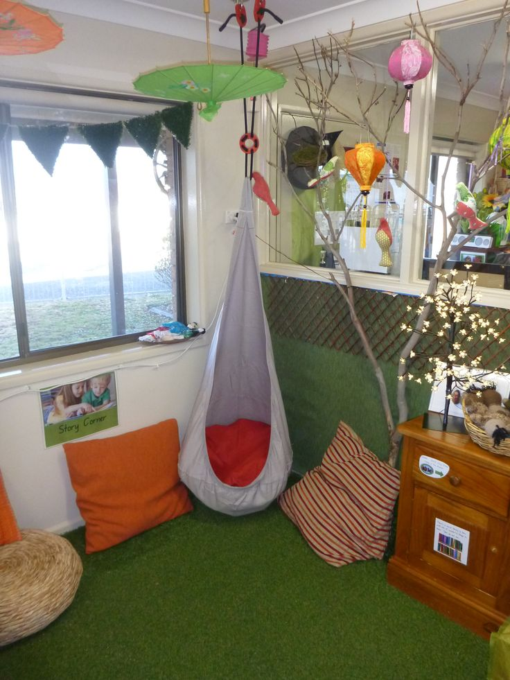 The new nest in Story Corner at Pied Piper Preschool
