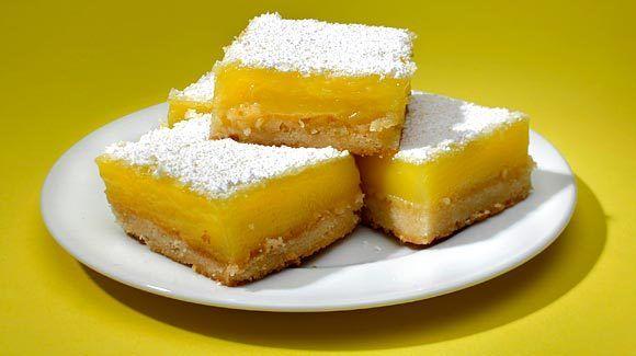 Euro Pane''s lemon squares