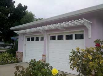 Best Simple Arbor Over Garage And The Window Over Gable End Of 400 x 300