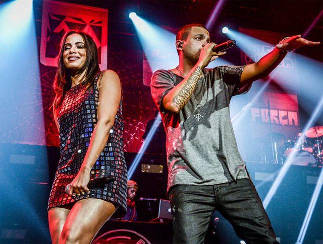 Projota faz gravação ao vivo em São Paulo com intervenções de Anitta e D2