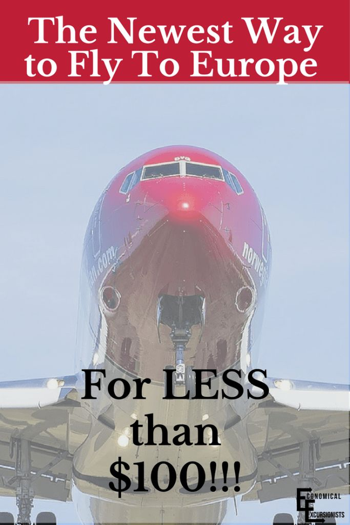 Norwegian Air $65 Flights are now a thing! Europe here I come!!!