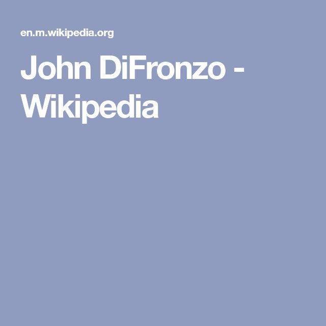 John DiFronzo - Wikipedia