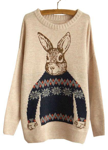 Новогодний свитер, и ничего более
