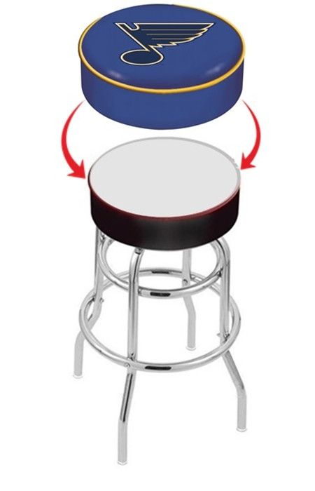 St Louis Blues Nhl Bar Stool Seat Cover