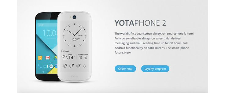 The second iteration of the dual display sporting YotaPhone has been quite a success since its release in December last year. And now the smartphone will come in a white variant with Android Lollipop preloaded.