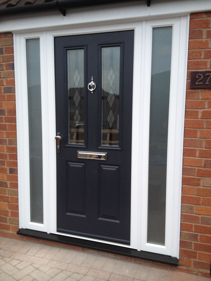 Keep it classy with an Etna in Anthracite Grey like this one! A gorgeous example of a composite front door. Find your nearest installer today: http://endurancedoors.co.uk/authorised-retailers/
