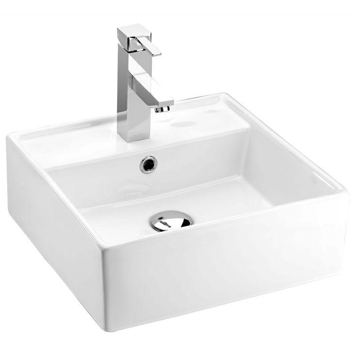 Bathroom and Ensuite basins  Marbletrend Boston Basin 1TH - Bunnings Warehouse