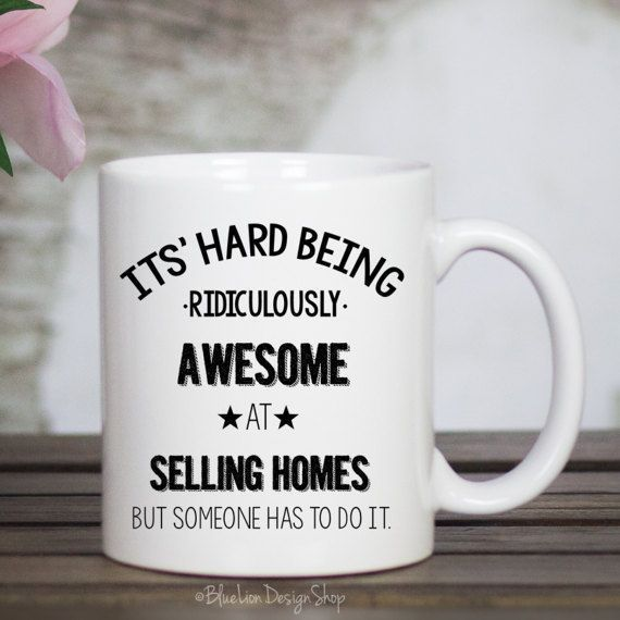 Real Estate Agent Mug Realtor Mug Realtor Gift Closing Gift Real Estate Agent Gift Real Estate Humor Real Estate Gifts