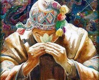 """Cuenta la leyenda de la Coca que, antes de morir Kjana-Chuyma (un viejo adivino al servicio del templo de la isla del Sol por orden del Inca) debido a causa de lesiones ocasionadas por el maltrato de los españoles, él comentó a sus hermanos:  """"Antes de morir mis hermanos, les comentaré lo que me reveló nuestro padre sol:  Cuando yo muera, deben subir al cerro que está próximo donde encontraran unas plantas de hojas curvas. Estas deben cultivarlas con esmero ya que de ellas obtendrán alimento…"""