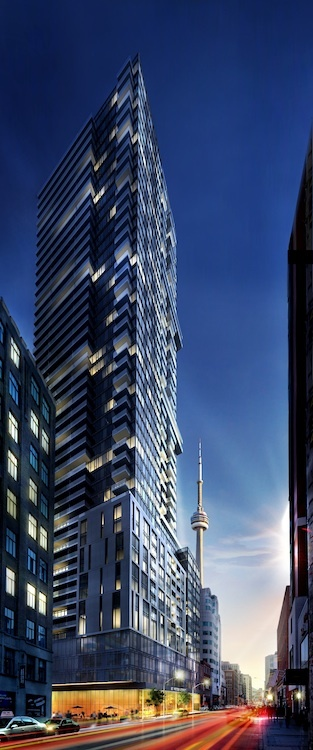 Check out the FULL rendering of 87 Peter street!     To register, visit www.menkes.com