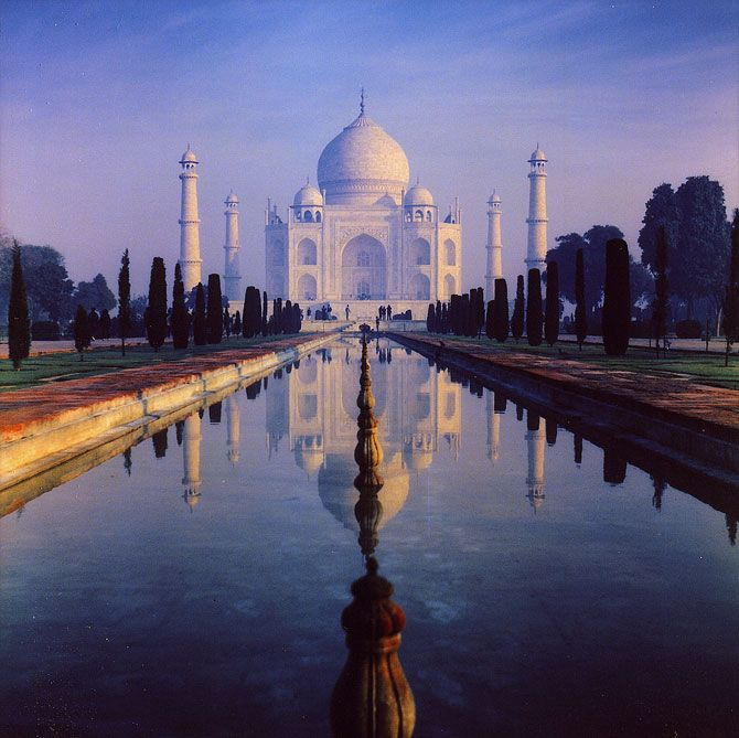 Hands down the most beautiful building in the world. Taj Mahal