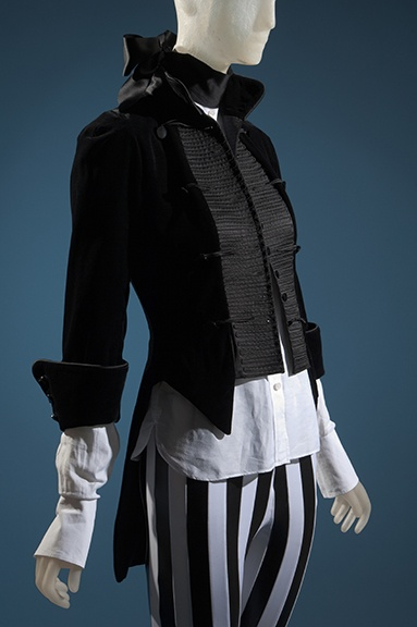 Christian Dior tailcoat, Balenciaga dress shirt