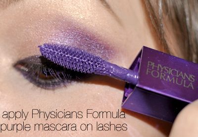 wait a SECOND...physician's formula has a purple mascara???  This I NEED.  LOL