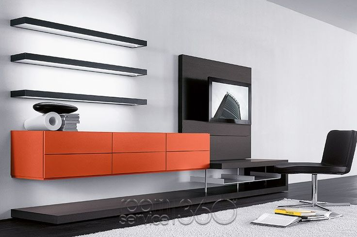 People 84A Modern Wall Unit by Pianca #17843