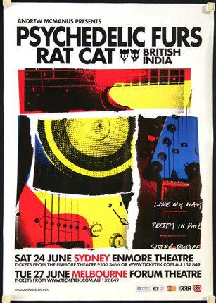 Chisholm Larsson Gallery: Psychedelic Furs, Rat Cat - Australian Tour