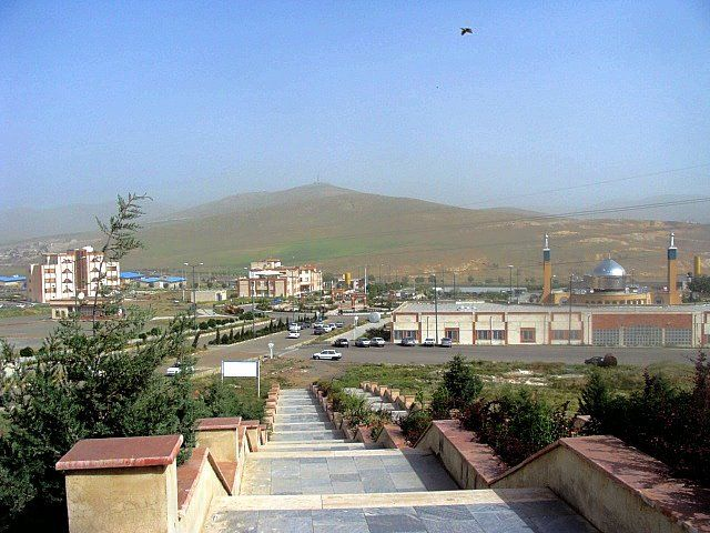 Viewpoint from the Azad University over the City of Kirmaşan, western Iran.