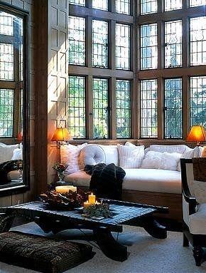 beautiful windows: Big Window, Natural Light, Buy A House, Cozy Nooks, Living Rooms, House Style, Reading Nooks, Windows, Window Seats