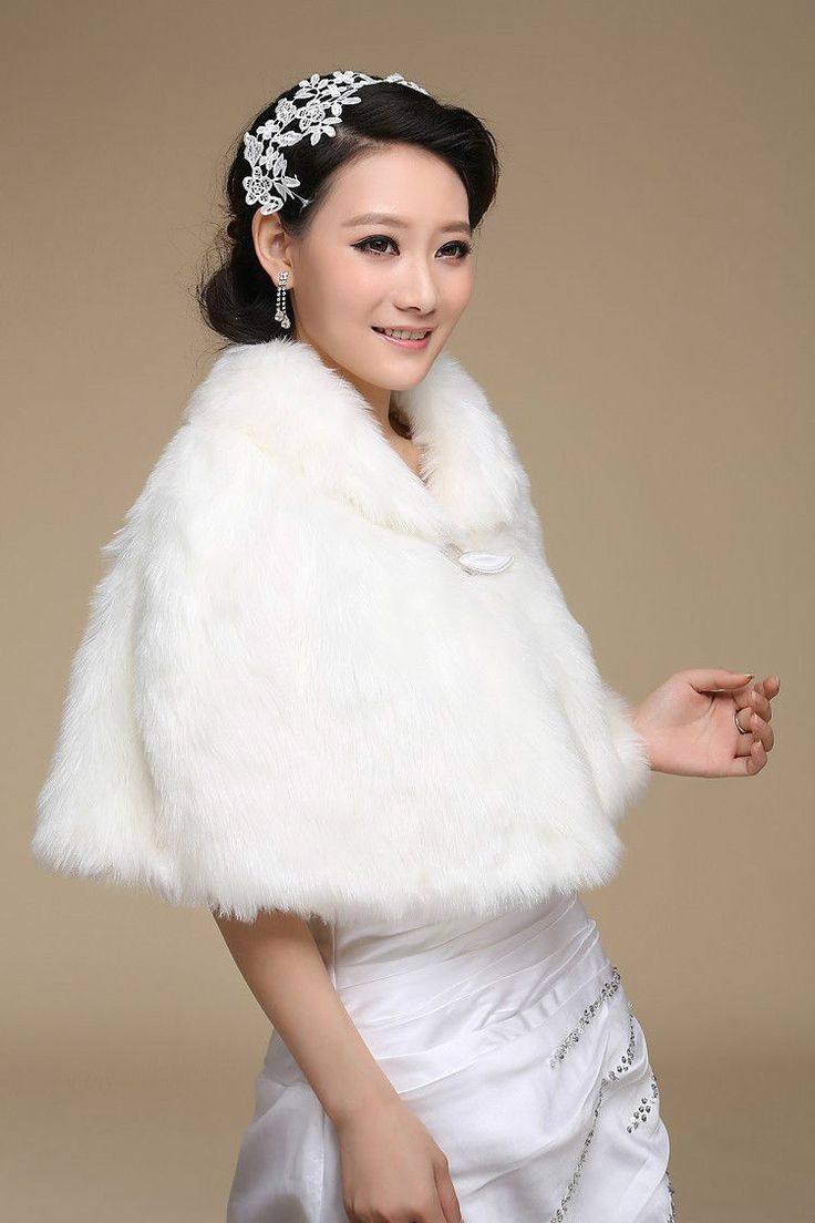 124 best faux Fur Shawl Parcel Wedding accessori images on ...