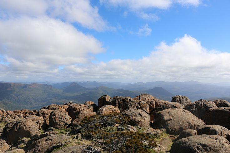 Top of Mt Ossa Tasmania 2015