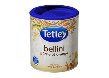 Tisane «Bellini» de Tetley