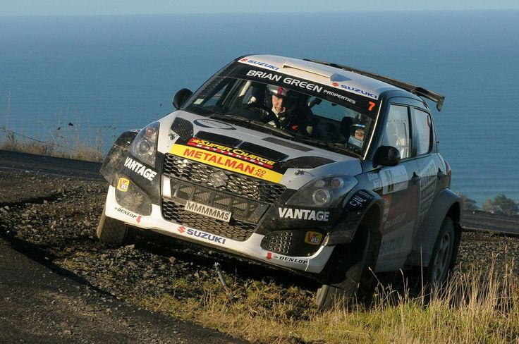 Emma Gilmour and Ben Atkinson - Suzuki Swift Sport Rally Car - Otago Rally 2014