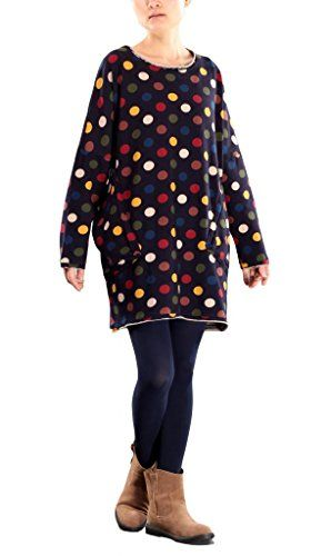 Generic Women's Polka Dot Autumn Tops Pullover With Two Pockets Generic http://www.amazon.com/dp/B00PWKGFJ8/ref=cm_sw_r_pi_dp_IuPBub1DPB8MT
