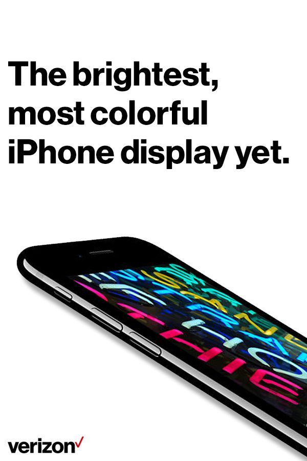 Almost everything you experience with your iPhone comes to life on its display. It's where you look at the photos, messages, news, and countless other things that make up your day. Get yours today on Verizon.