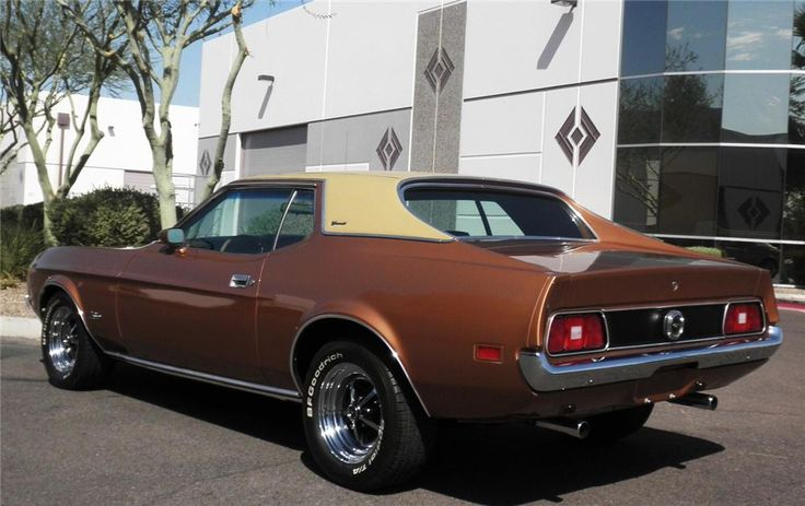 1971 FORD MUSTANG GRANDE COUPE