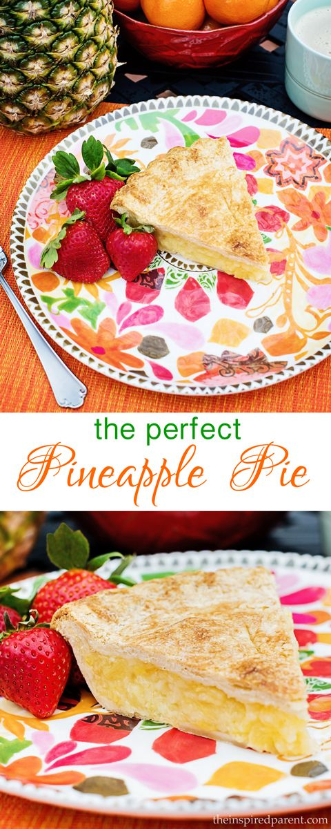 Tropical Pineapple Pie
