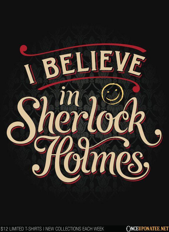 I believe in Sherlock!--not doctor who art but still