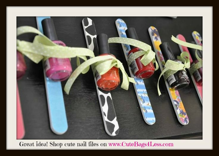 Great idea and very affordable to do! Shop our cute nail files @ www.mythirtyone.com/stylewithsandi We're not just bags!