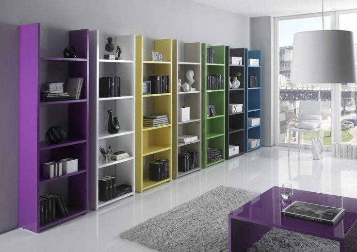 Personal Office Design – Shelving Unit – LC Mobili Box Bookcase Collection